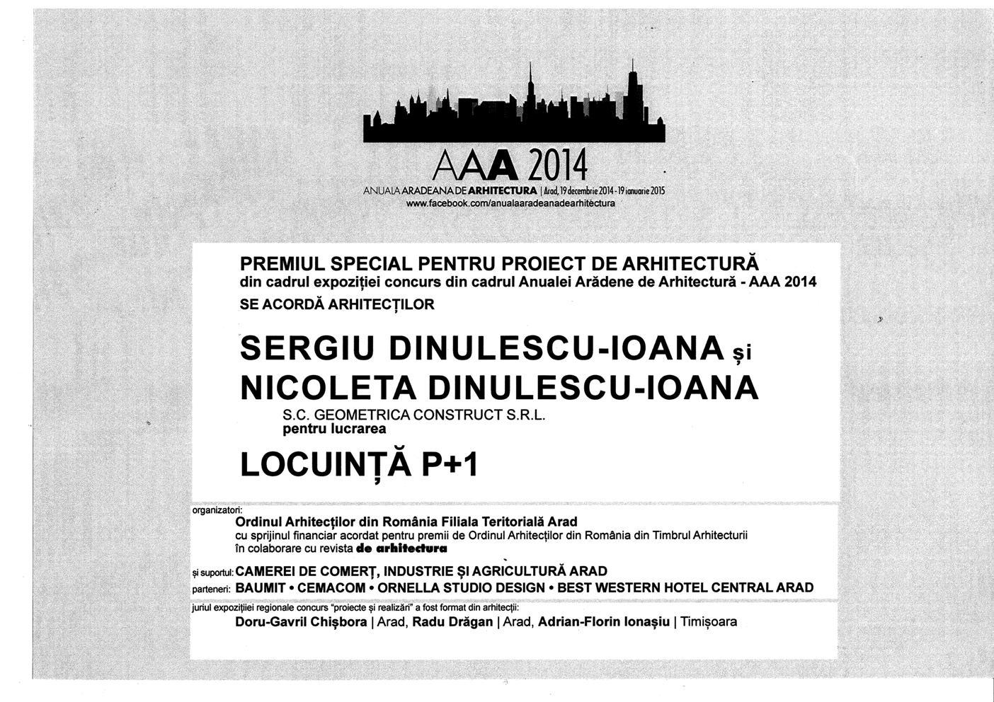 Premiere Locuinta P+1E.